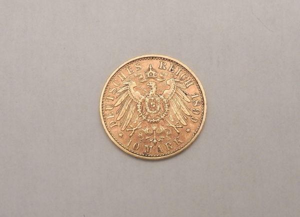 Pice-OR-10-MARK-1899-A-Wilhem-II-Prusse-Prussia-Preussen-393-gr-282990597800-3