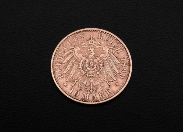 Pice-OR-10-MARK-1899-A-Wilhem-II-Prusse-Prussia-Preussen-393-gr-282990597800-6