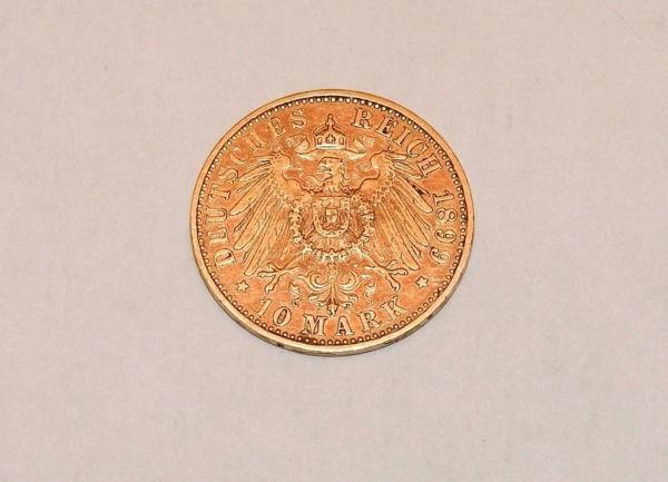 Pice-OR-10-MARK-1899-A-Wilhem-II-Prusse-Prussia-Preussen-393-gr-282990597800