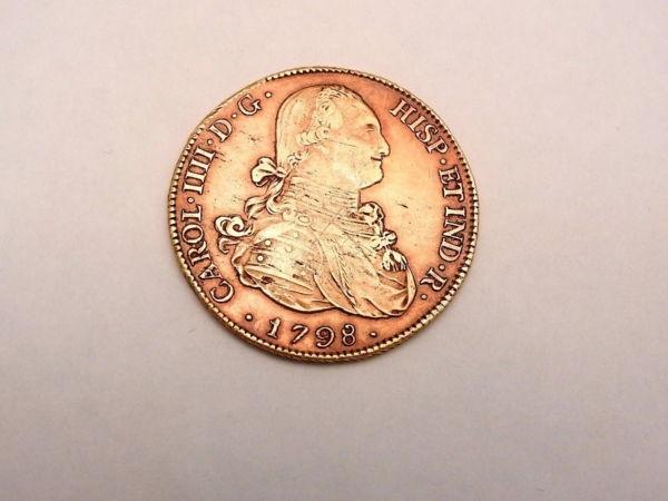 Pice-OR-Espagne-Charles-IV-8-Escudos-1798-Rio-Plata-Espaa-Carlos-IV-Oro-282286805841-11