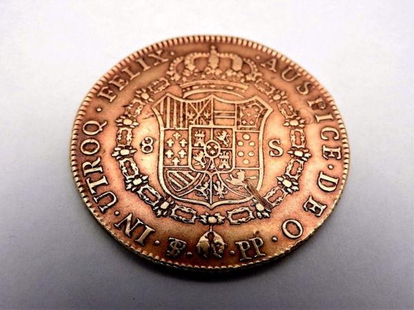Pice-OR-Espagne-Charles-IV-8-Escudos-1798-Rio-Plata-Espaa-Carlos-IV-Oro-282286805841-3
