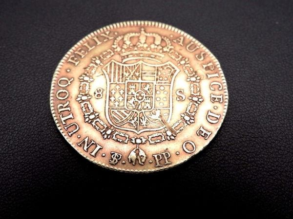 Pice-OR-Espagne-Charles-IV-8-Escudos-1798-Rio-Plata-Espaa-Carlos-IV-Oro-282286805841-4