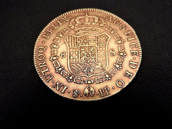 Pice-OR-Espagne-Charles-IV-8-Escudos-1798-Rio-Plata-Espaa-Carlos-IV-Oro-282286805841-5