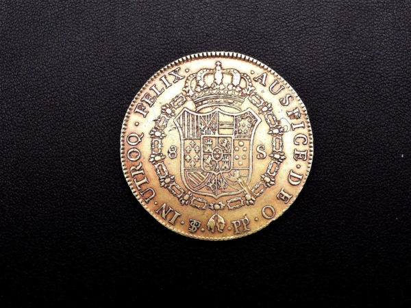 Pice-OR-Espagne-Charles-IV-8-Escudos-1798-Rio-Plata-Espaa-Carlos-IV-Oro-282286805841-6