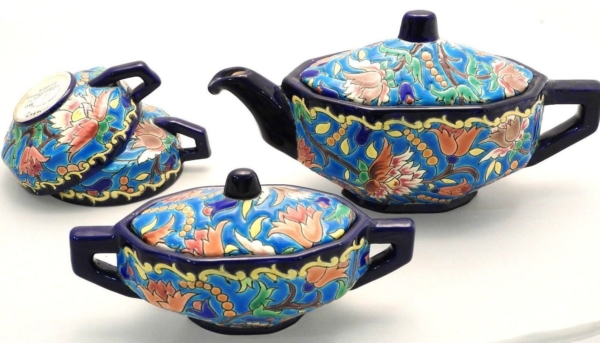 Service-Tete-tete-Caf-Th-Estampill-LONGWY-Faience-maille-TTBE-282824890031-8