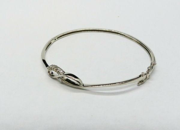 Bracelet-OR-BLANC-750-Articul-68-gr-Poinon-Tete-daigle-7-Diamants-283596483642-6