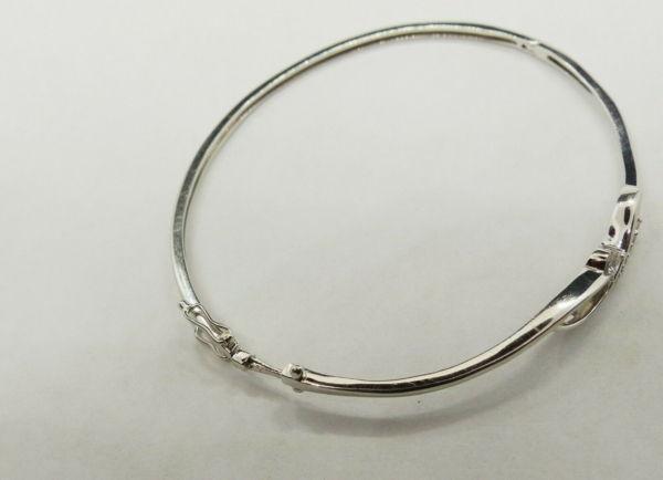 Bracelet-OR-BLANC-750-Articul-68-gr-Poinon-Tete-daigle-7-Diamants-283596483642-7