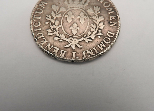 ECU-a-la-vieille-tete-Louis-XV-1773-L-ARGENT-917-XVIII-Bayonne-TB-273954520402-6