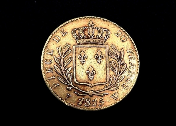 Pice-20F-OR-1815-W-Lille-TTB-Louis-XVIII-Graveur-Tiolier-273249074533