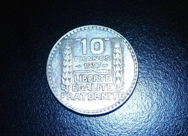 10-FR-ARGENT-1937-10-F-TURIN-TB-10-FRANCS-Monnaie-Argent-273954520395-12
