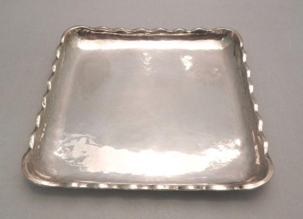 PLATEAU-Argent-Massif-925-500-gr-Argenterie-213-x-213-cm-PEROU-282992305125