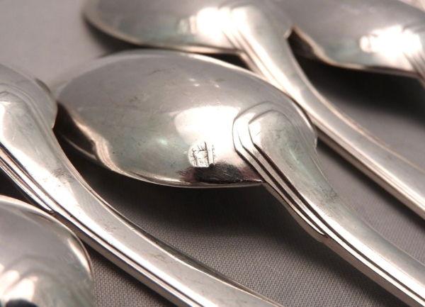 15-Cuillres-Caf-dessert-Argent-Massif-MINERVE-448-gr-Orfvre-BOULENGER-282824890016-7