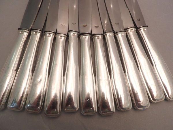 18-Grands-Couteaux-Argent-Massif-MINERVE-16-Kg-Maitre-Orfvre-BOULENGER-282824890026-4