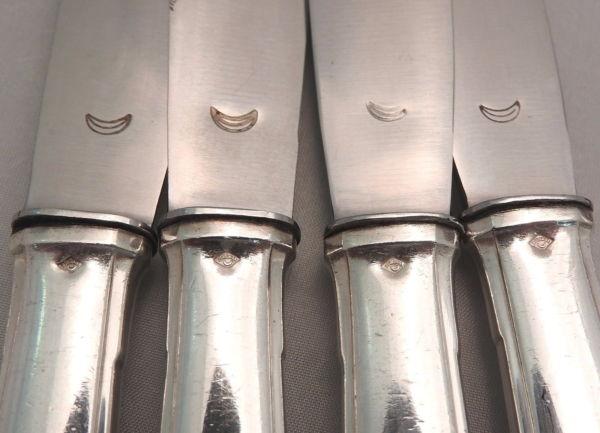 18-Grands-Couteaux-Argent-Massif-MINERVE-16-Kg-Maitre-Orfvre-BOULENGER-282824890026-5