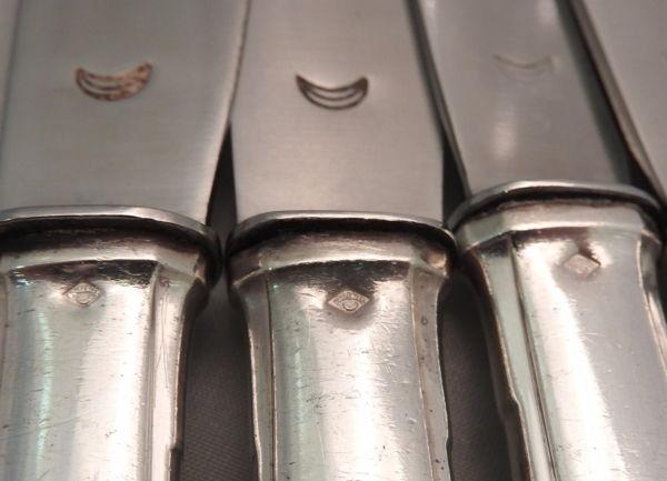 18-Grands-Couteaux-Argent-Massif-MINERVE-16-Kg-Maitre-Orfvre-BOULENGER-282824890026-7
