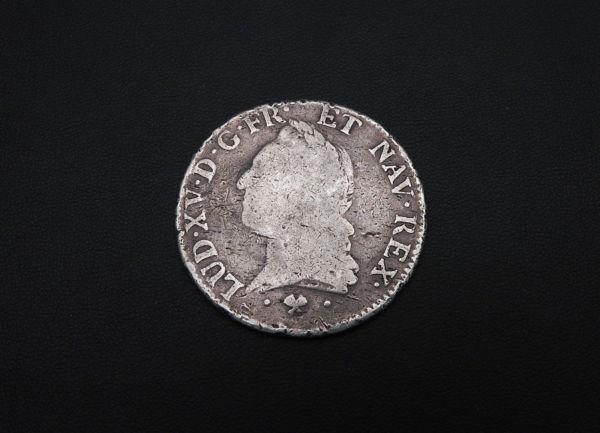 ECU-a-la-vieille-tete-Louis-XV-1773-L-ARGENT-917-XVIII-Bayonne-TB-273247457946-2