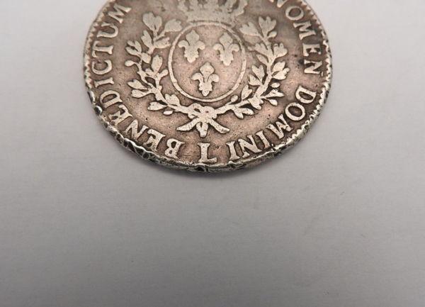 ECU-a-la-vieille-tete-Louis-XV-1773-L-ARGENT-917-XVIII-Bayonne-TB-273247457946-6