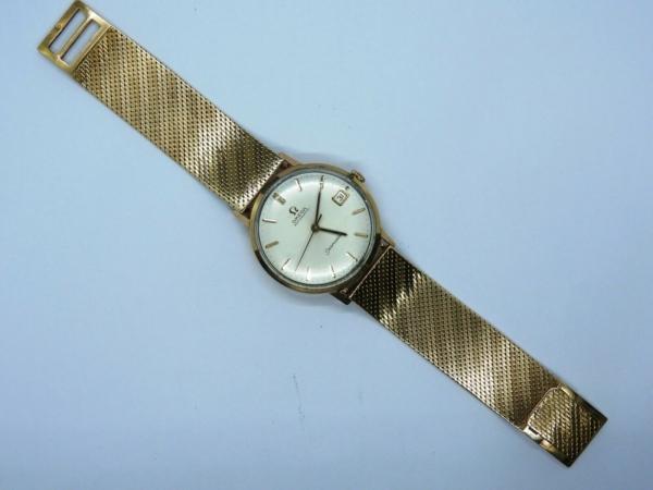 Montre-OMEGA-SEAMASTER-Mouvement-Automatique-Bracelet-montre-OR-Or-750-283495066196-4