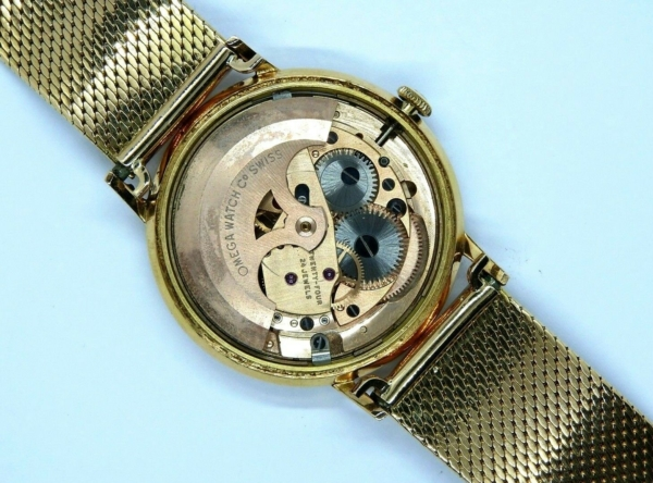 Montre-OMEGA-SEAMASTER-Mouvement-Automatique-Bracelet-montre-OR-Or-750-283495066196-5