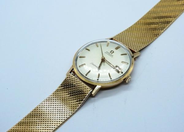 Montre-OMEGA-SEAMASTER-Mouvement-Automatique-Bracelet-montre-OR-Or-750-283495066196