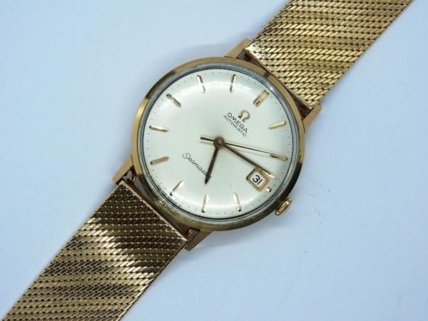 Montre-OMEGA-SEAMASTER-Mouvement-Automatique-Bracelet-montre-OR-Or-750-283495066196-7