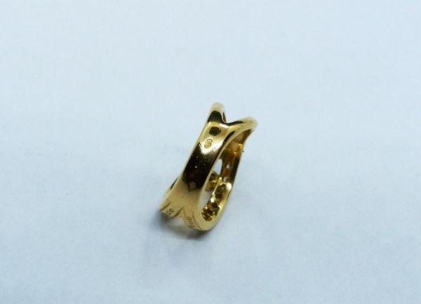 BAGUE-OR-750-Or-jaune18K-19-Diamants-72-gr-Poinon-tete-daigle-283598905628-7