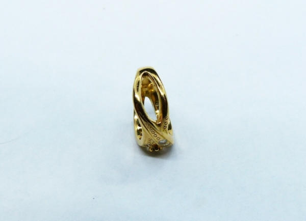 BAGUE-OR-750-Or-jaune18K-19-Diamants-72-gr-Poinon-tete-daigle-283598905628-8
