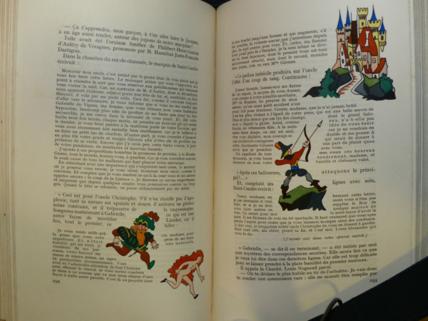 Maurice-MAINDRON-SAINT-CENDRE-Illustr-Henri-MONIER-Edition-du-Blier-1943-283569356208-6