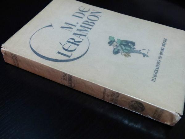 Maurice-Maindron-M-DE-CLERAMBON-Illustrateur-Henri-MONIER-Edition-du-Blier-282944471949-3