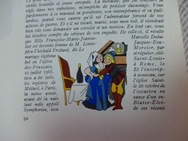 Maurice-Maindron-M-DE-CLERAMBON-Illustrateur-Henri-MONIER-Edition-du-Blier-282944471949-5