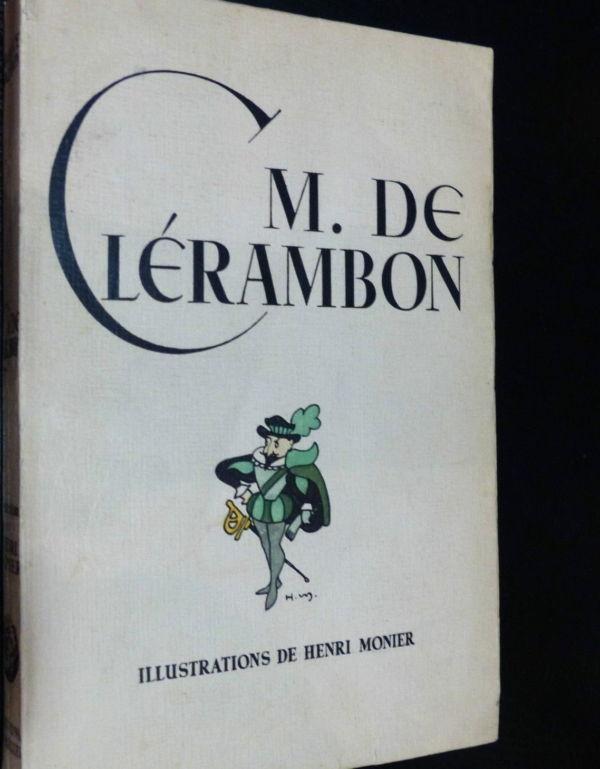Maurice-Maindron-M-DE-CLERAMBON-Illustrateur-Henri-MONIER-Edition-du-Blier-282944471949