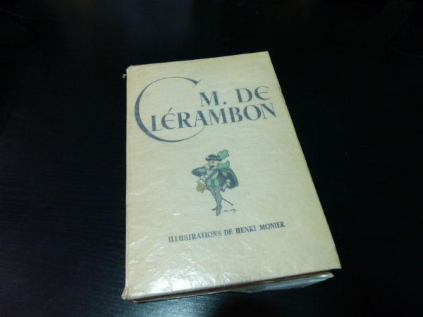 Maurice-Maindron-M-DE-CLERAMBON-Illustrateur-Henri-MONIER-Edition-du-Blier-282944471949-9
